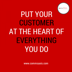 CUSTOMER AT THE HEART