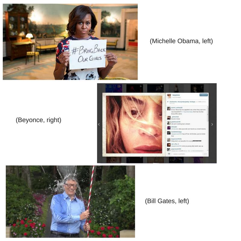 (Michelle Obama, left)