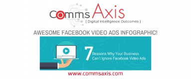 Why your business can't ignore Facebook Video Ads infographic by Memory Tree