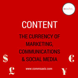 Content marcoms currency