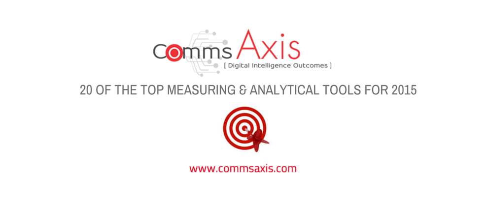 20 of the top measuring & analytical tools for 2015