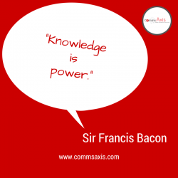 Quote_Sir France Bacon; knowledge power