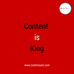 Content is king (1)