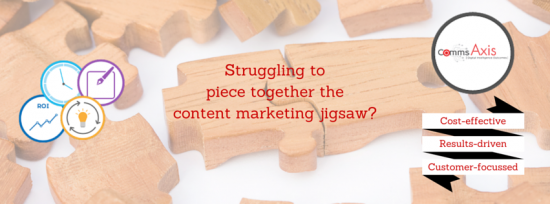 If you're struggling to piece together the content marketing jigsaw, our cost-effective content marketing service could be just what you need!