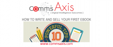 Blog post feature image for great infographic mapping out how you can successfully write and sell your first eBook