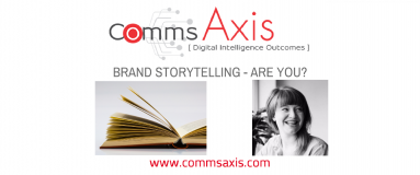 Why Brand Storytelling is the Next Big Thing For Online Brands_Comms Axis post feature image_For marketers and business owners who want to get ahead of the game, it's all about embracing brand storytelling. Read Victoria Greene's post for why & how!