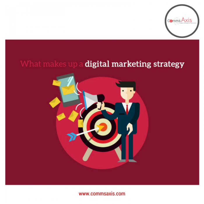 What makes up Digital Marketing Strategy basics for Tristan Chua article on Comms Axis