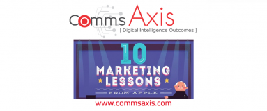 10 Marketing Lessons from Apple feature image for The Website Group infographic on Comms Axis_Check out The Website Group's infographic that highlights 10 tried-and-tested marketing lessons from Apple you can apply to yourmarketing strategies today!